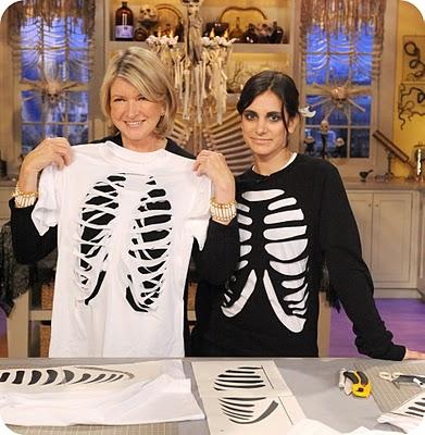 diy skeleton shirt