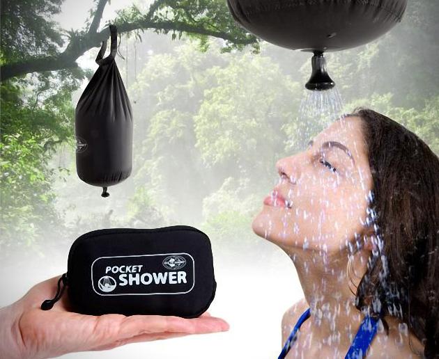 On The Go Pocket Shower