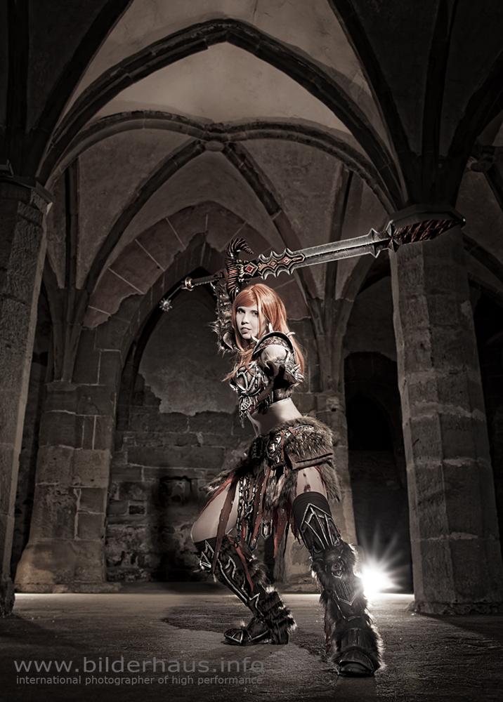 Barbarian. D3. Diablo III. Cosplay. Blizzard.
