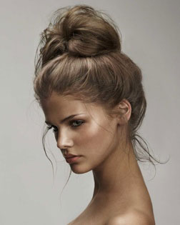christmas hair styles how to feel better within the hour we how to do it 2428 | 051747 Messy bun Love