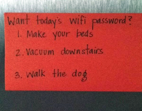 I have to remember this in about 10 years. Well played, Mom.