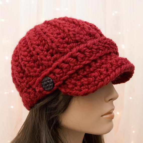 Love knit hats like these! Wish I was talented enough to make one!