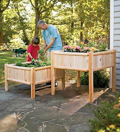 Raised Vegetable Gardens | Edible Garden Central