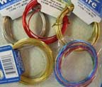 All types of wire for jewelry making