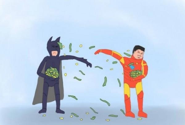 Batman vs. Iron Man