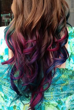 Temporary Hair Colored Chalk | $3.00