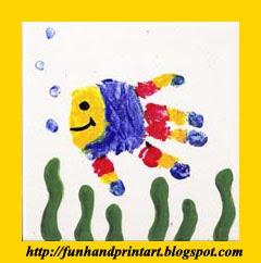 Blog dedicated to handprint/footprint crafts
