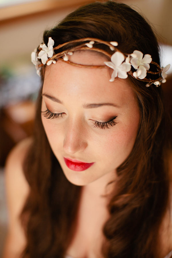 floral crown  //  trembley photography