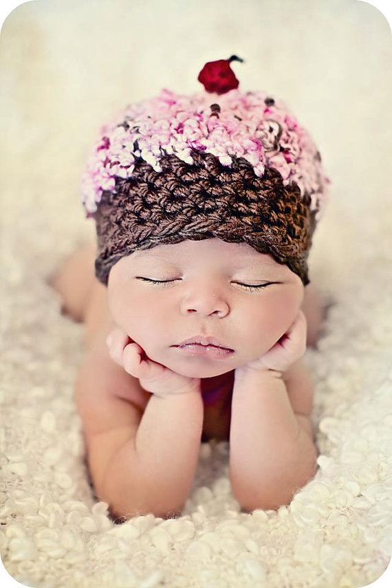 I think these posed sleeping positions are adorable – when you add a unique hat
