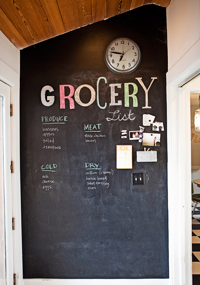 Whenever I get my own house I definitely want to do this not only for groceries