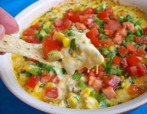 The BEST hot corn dip…everyone that tries it always asks for the recipe.