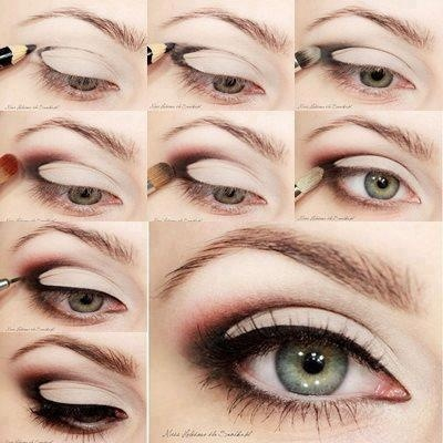The magic triangle #makeup #tutorial #eye #shadow #smokey #pretty #cute #desi   We Know How To Do It