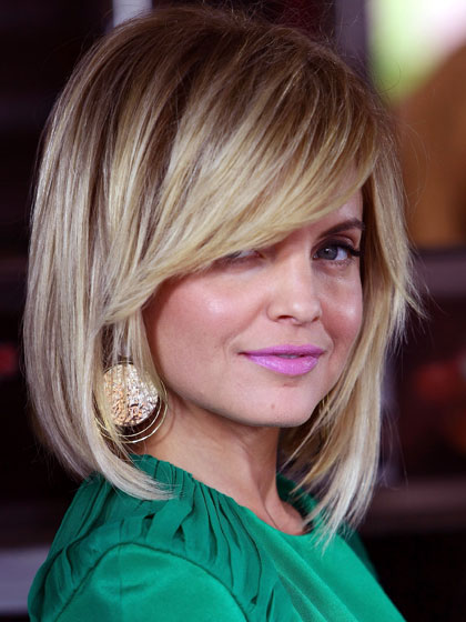 All New for 2012: 10 Hairstyles That Make You Look 10 Years Younger: MENA SUVARI
