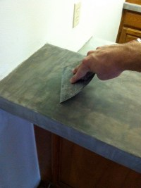 DIY ARDEX Concrete Countertops   We Know How To Do It