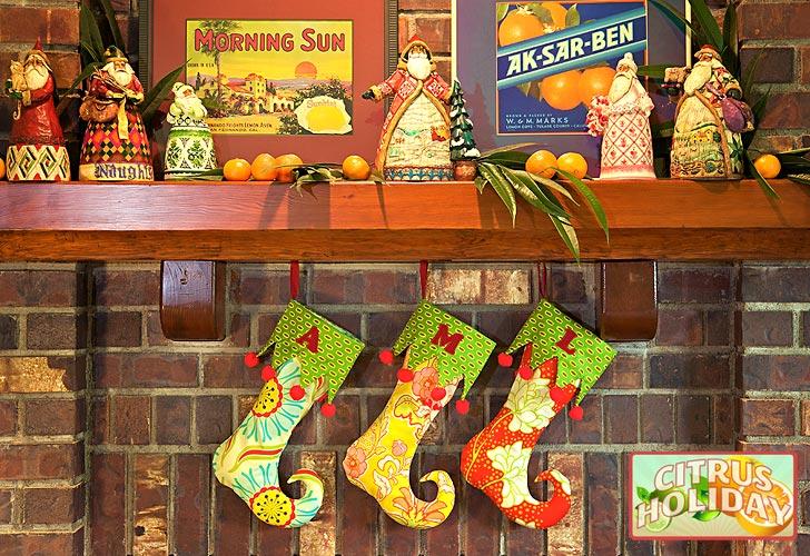 Elf Stocking DIY