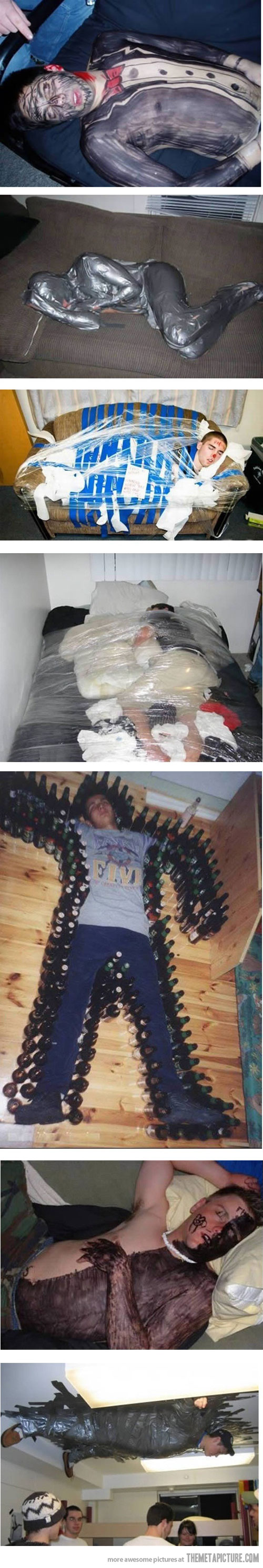 Reasons not to drink, especially w/ friends like these
