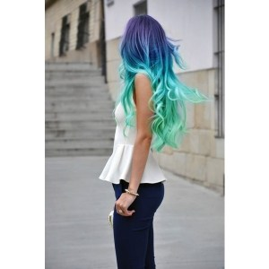 Hair, Nails & Makeup / ombre