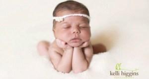 Newborn Photo, Kelli Higgins Photography