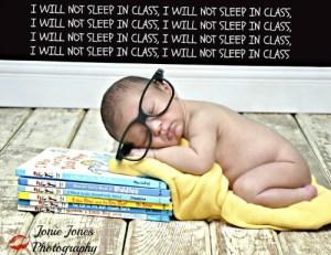 Newborn photo, Jonie Jones