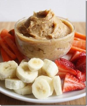 Wannabe Chef peanut butter yogurt dip