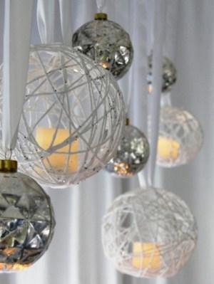 Christmas candle chandelier (via homeandgarden)