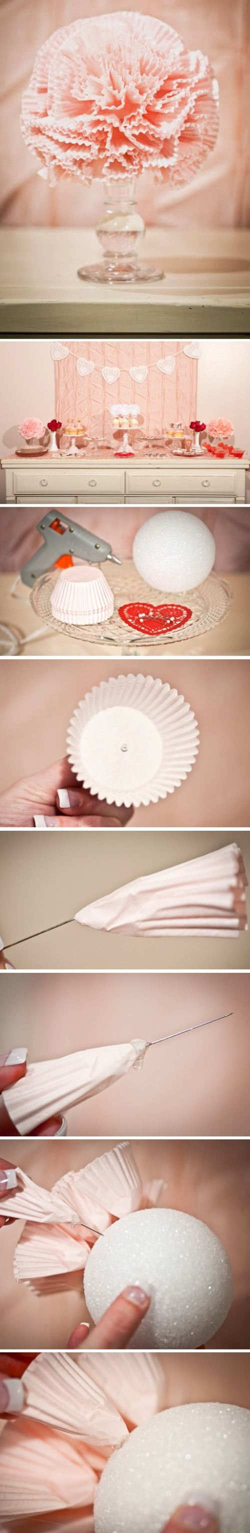 DIY Decoration for a wedding or baby shower