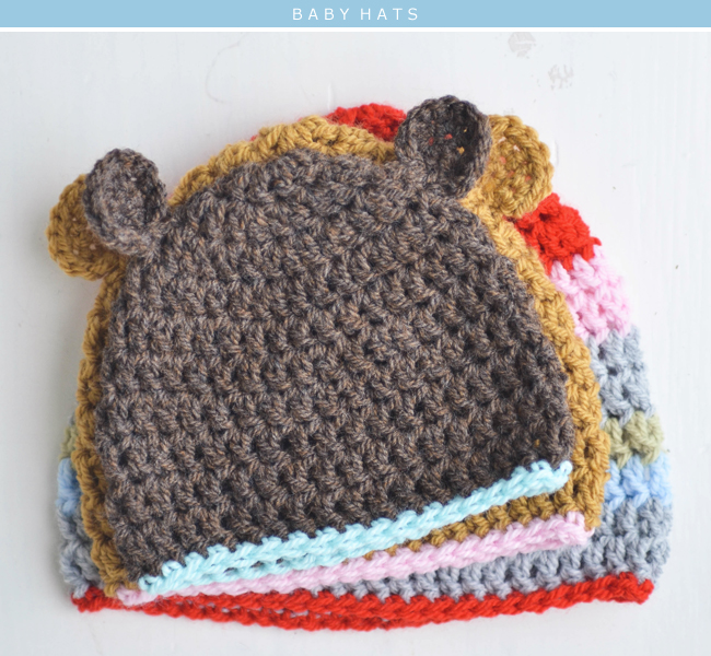 100 Baby Hat Crochet Patterns