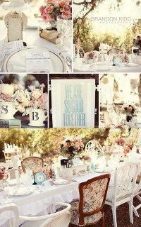 vintage bridal shower | We Know How To Do It