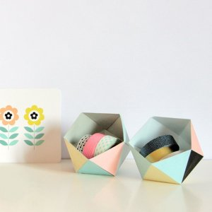 Geo Ball Gift Box. See how to make it