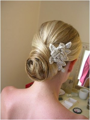 chignon bun updo 19 Bridal Hairstyles to Try This Wedding Season 19 Bridal Hairstyles to Try This Wedding Season Chignon Bun Updo