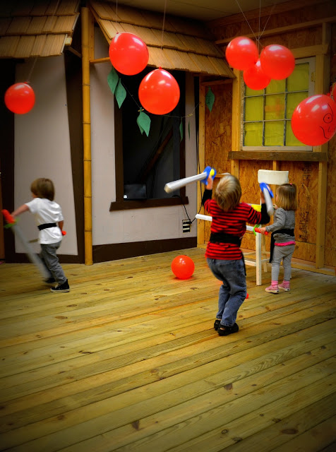 Ninja party ideas and games