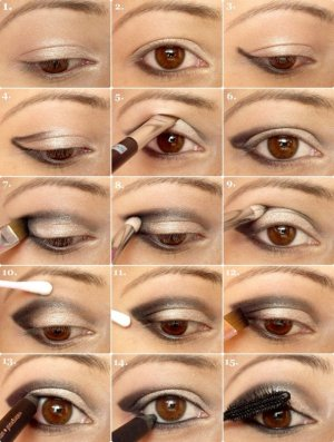 Winged Eye Makeup Tutorial for Night Look