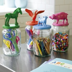 Children's Craft Storage