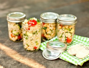 Store Salads for a Picnic or Quick Lunch