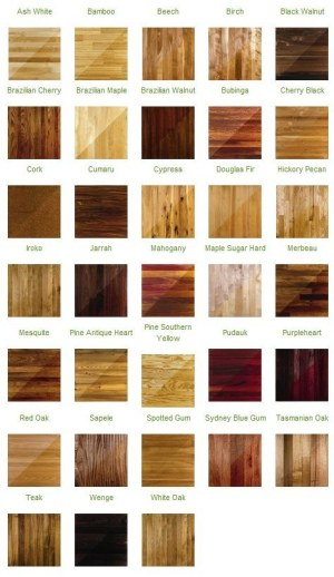 The Colors of Hardwood