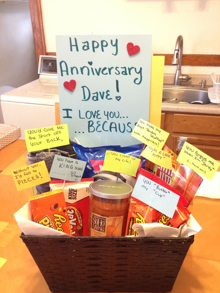 1 Year Anniversary Gifts For Him Ideas We Know How To Do It
