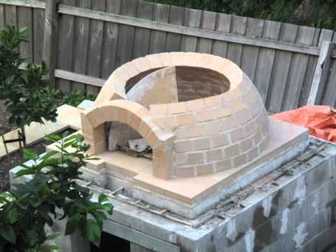 Building a wood-fired pizza
