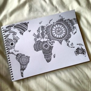 Absolutely Beautiful Zentangle patterns For Many Use (1)