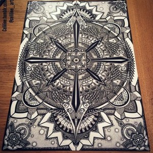 Absolutely Beautiful Zentangle patterns For Many Use (14)