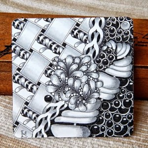 Absolutely Beautiful Zentangle patterns For Many Use (22)