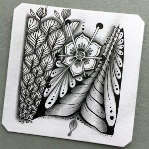 Absolutely Beautiful Zentangle patterns For Many Use (29)
