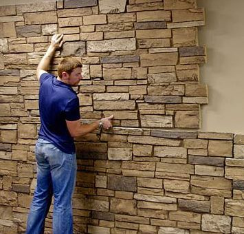 Fake Stone Wall Urestone Panels