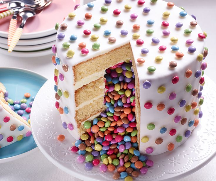 Smart Surprise Inside Cake