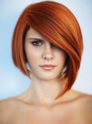 Edgy Inverted Asymmetrical Bob Cut for Spring 2015