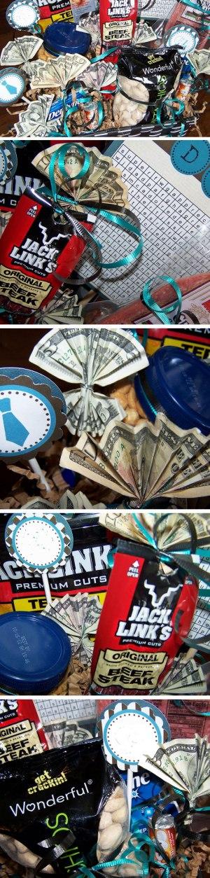 Man Snacks + Money