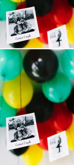 Your Pictures Tied to Balloons