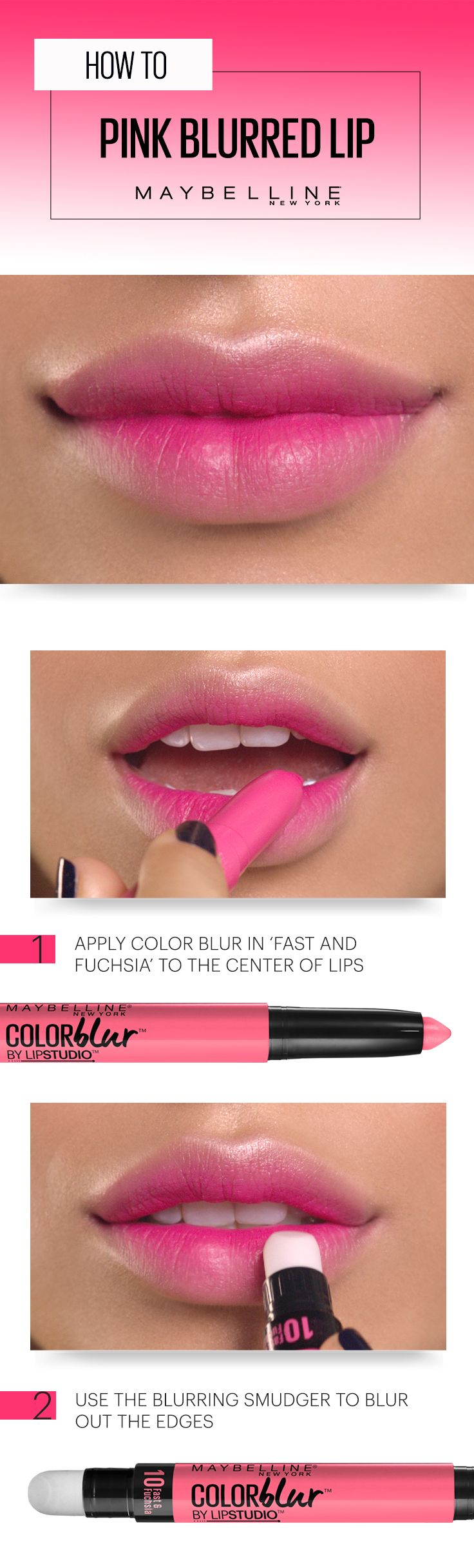 Tip on a matte lips