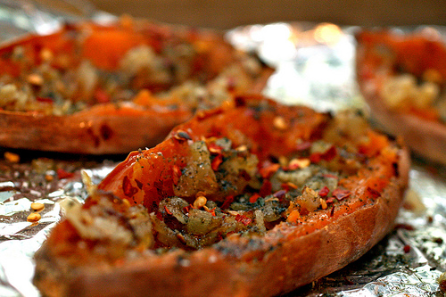 Sweet Potato – Potato Skins