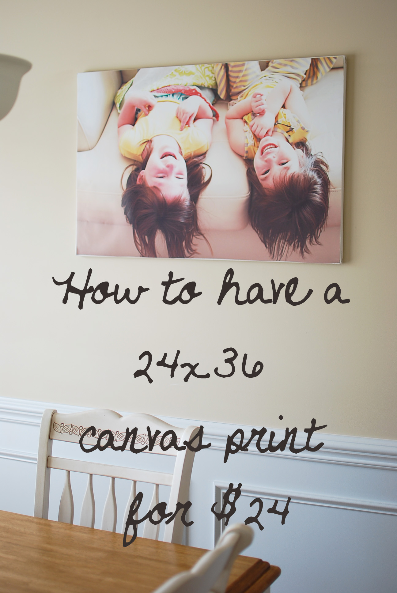 frugal decorating!