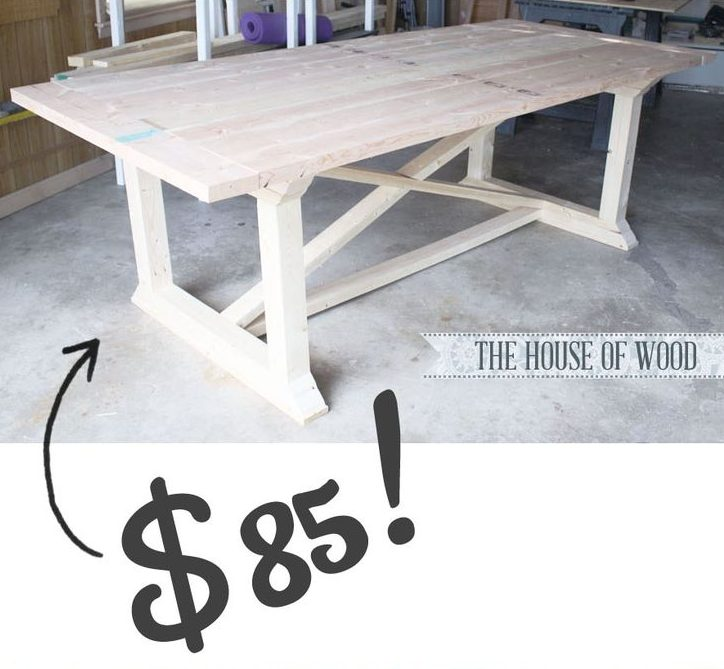 DIY Dining Table Tutorial